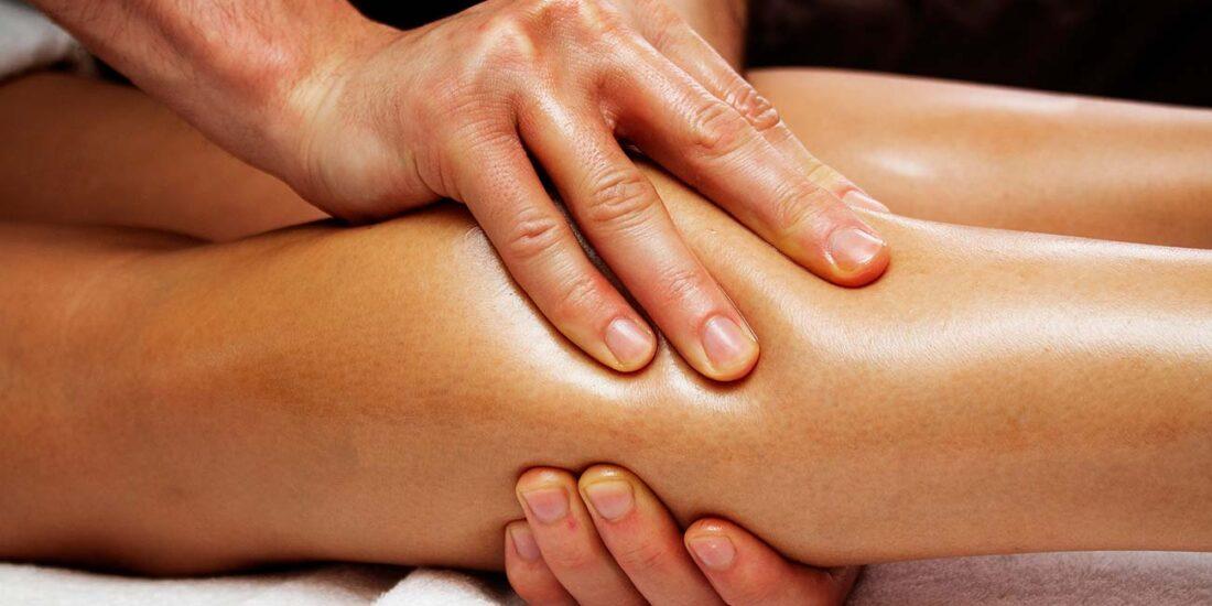 Massaggio drenante gambe e fianchi